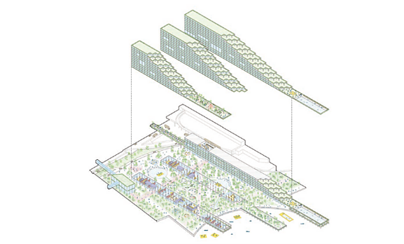 Manni Group Design Award Detroit Waterfront Disctrict