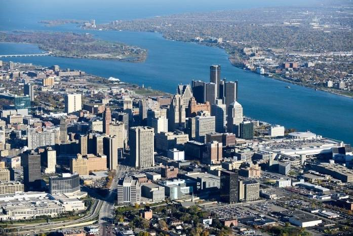 Un nuovo skyline per Detroit Waterfront District - Manni Group 2
