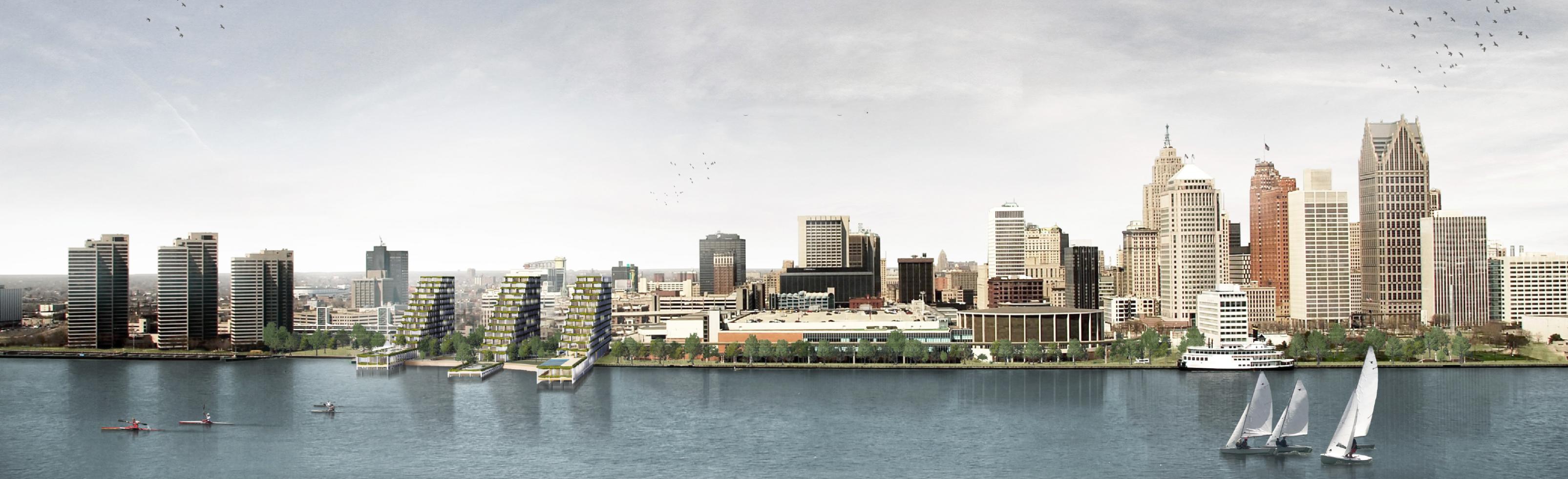 Detroit Waterfront District: Okuma secondo classificato con un progetto offsite ad alto impatto sociale