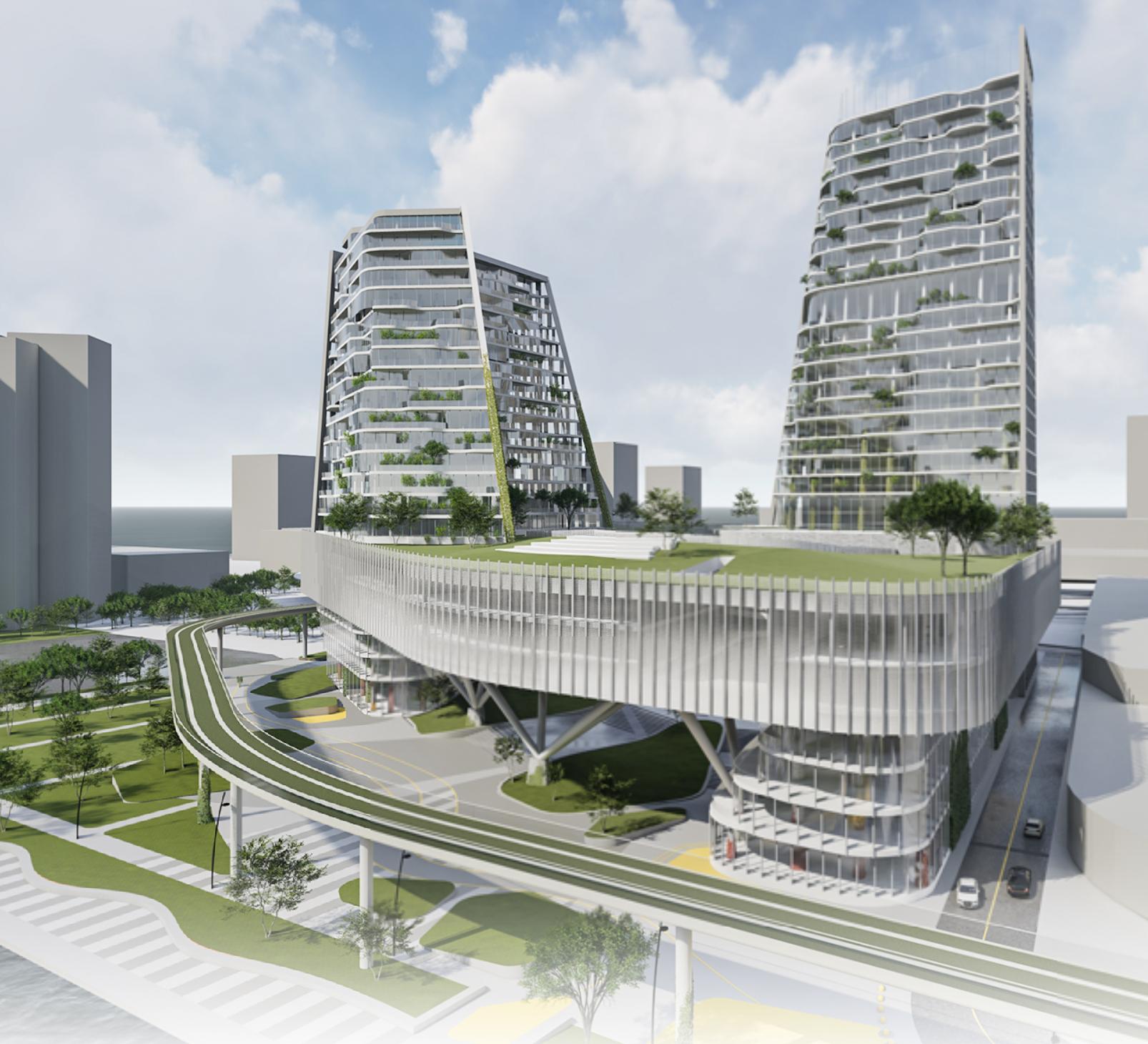 Ventilated Façade: la Gold Mention del Detroit Waterfront District contest assegnata a EASY